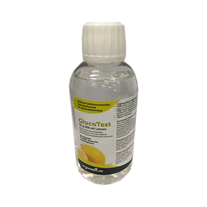 GlucoTest 75g 200ml Lemon colorless, sugarmill.eu
